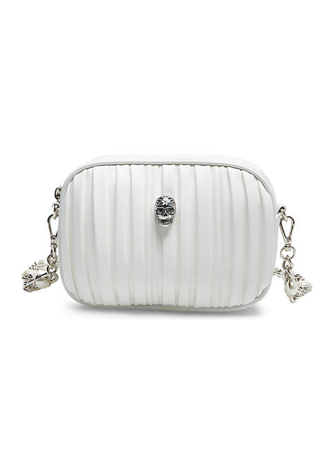 Betsey Johnson Pretty Plissé Crossbody Bag