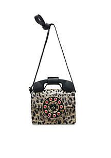 Leopard Phone Satchel
