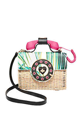 677a0fa1c6e16 Betsey Johnson Multi-Phone Crossbody ...