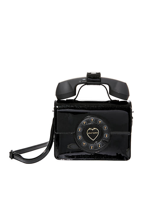 Betsey Johnson Hello Goodbye Phone Bag