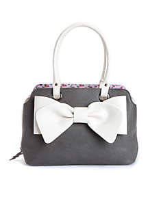 Pop Collar Satchel