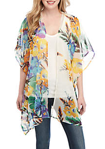 New Directions® Multi Floral Shawl
