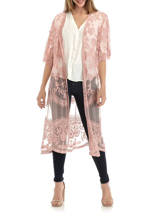 Lace Duster Topper