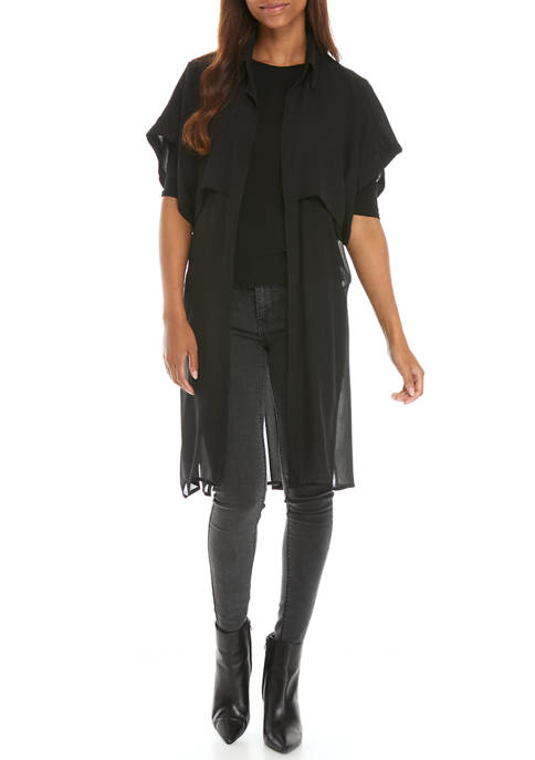Trench Back Topper