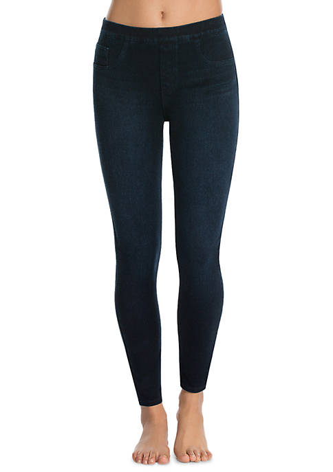 SPANX® Cropped Indigo Knit Leggings