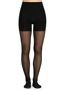 Honeycomb Fishnet Tight