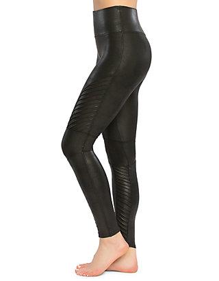 3b47f15897f5b SPANX® Faux Leather Moto Leggings | belk