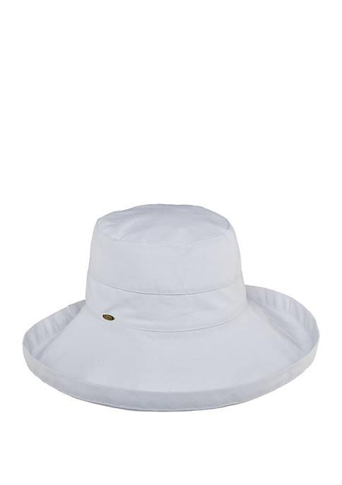 Scala Cotton Widebrim Hat