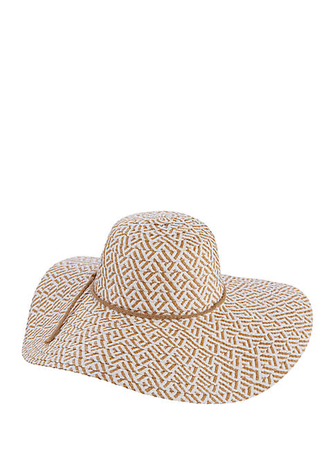 Toyo Hat with Braided Band