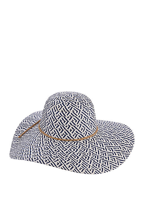 Dorfman Toyo Hat with Braided Band