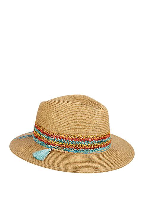 Dorfman Scala Straw Safari Hat