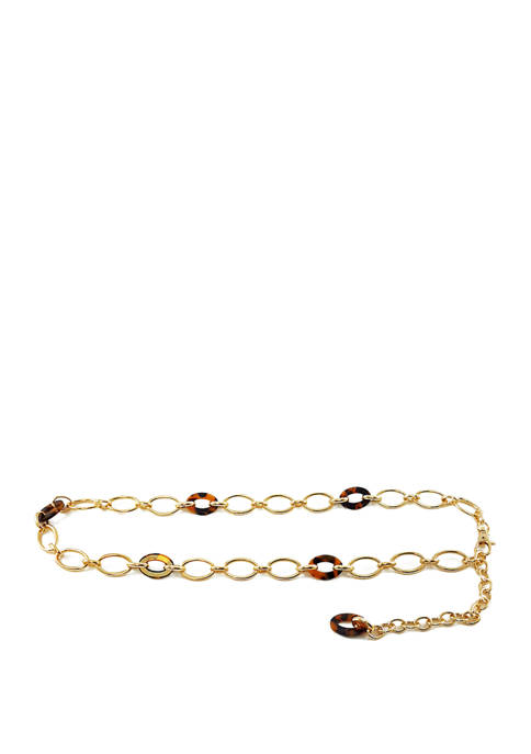 New Directions® Oval Ring Chain Belt