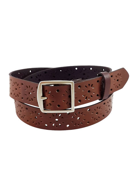 New Directions® Casual Perfect Center Bar Buckle Belt
