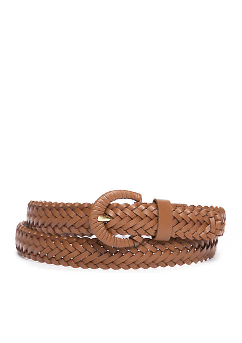 New Directions® Braided Buckle Belt