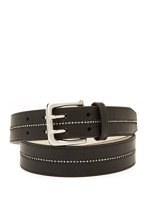 Smooth Belt with Shotbead Detail