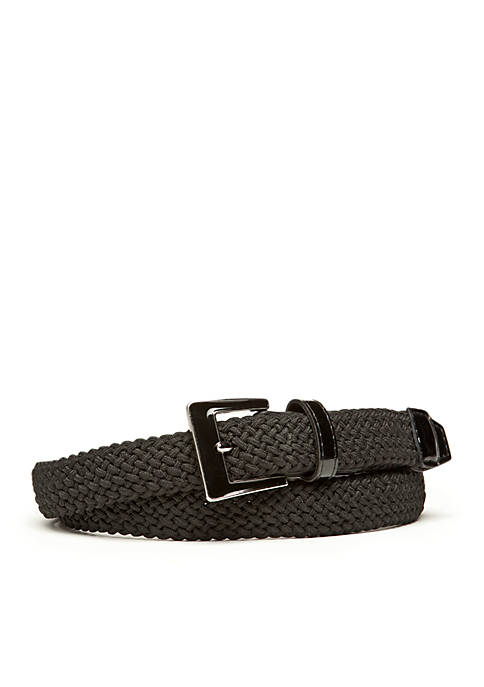 Fabric Stretch Braided Belt