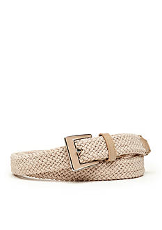 New Directions® Fabric Stretch Braided Belt