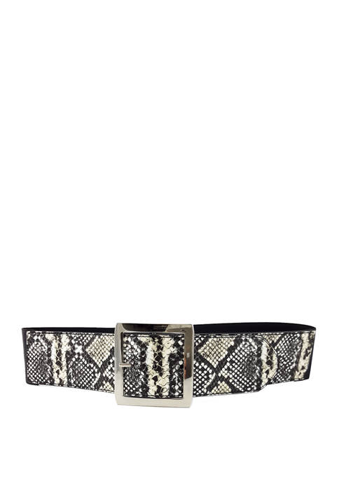 New Directions® Python to Smooth Reversible Stretch Belt