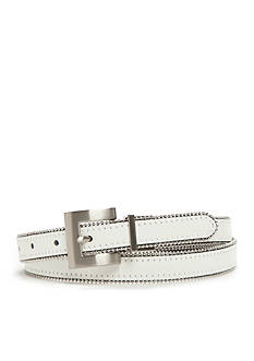 New Directions® Smooth To Patent Reversible Beaded Edge Belt