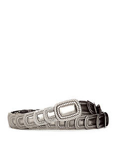 New Directions® Textured Modern Stretch Metal Belt