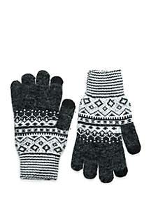 Fairisle Lined Gloves