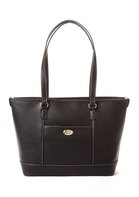 Kim Rogers® Turn Lock Tote