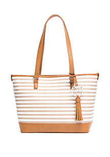 Kim Rogers® Key Item Stripe Tote
