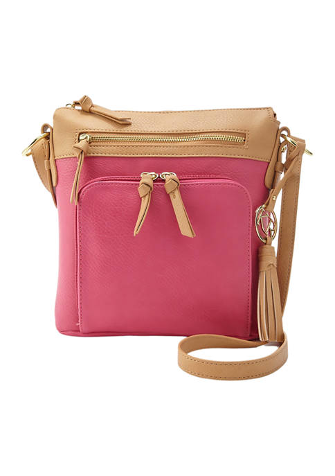 Kim Rogers® Double Pocket Crossbody