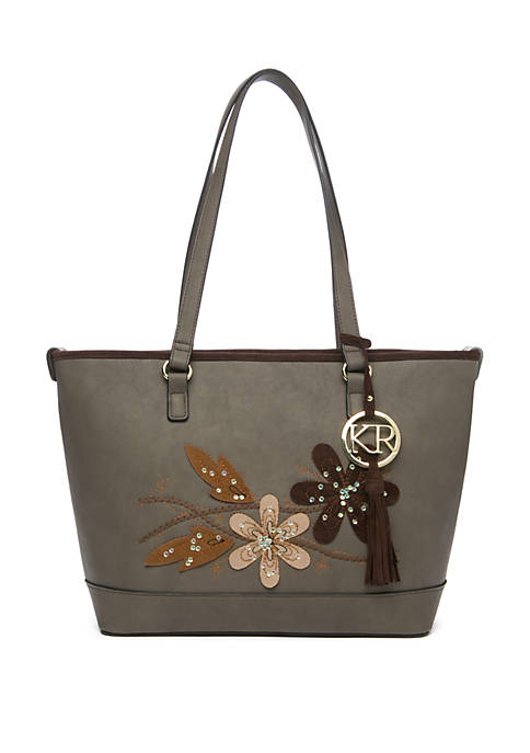 Kim Rogers® Tote with Leaves
