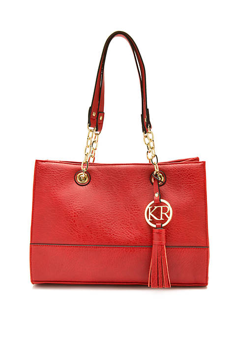 Kim Rogers® Chain Shopper Handbag
