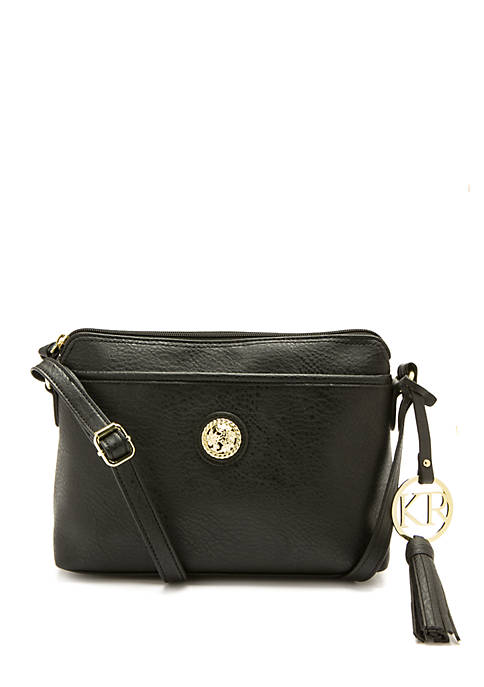 Kim Rogers® Crossbody with Pocket and Chain