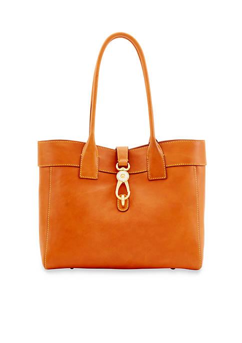 """Dooney & Bourke Florentine Large """"Amelie"""" Shoulder Bag"""