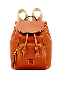 Florentine Leather Medium Murphy Backpack
