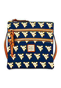 West Virginia Triple-Zip Crossbody