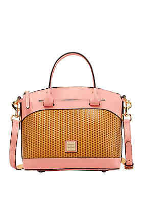 05405d674140 Dooney   Bourke Beacon Woven Satchel ...