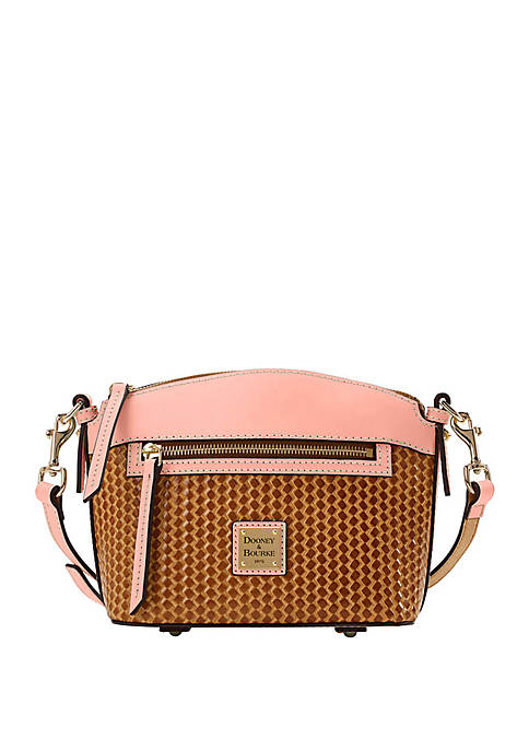 Dooney & Bourke Beacon Woven Leather Crossbody Bag