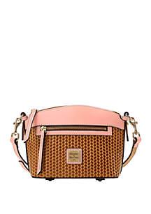 Dooney & Bourke Beacon Woven Leather Crossbody Bag