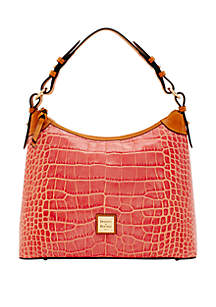 Dooney & Bourke Croco Hobo
