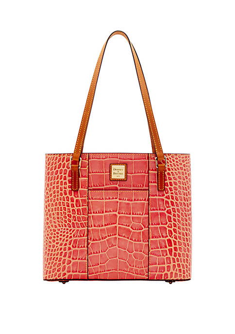 Dooney & Bourke Croco Small Lexington Tote