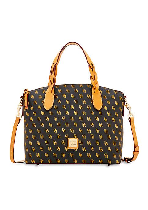 "Dooney & Bourke Signature Print ""Celeste"" Satchel"