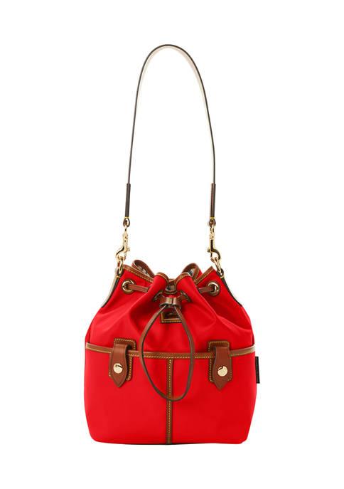 Dooney & Bourke Nylon Drawstring Bucket Bag