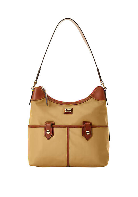 Dooney & Bourke Wayfarer Zip Hobo Bag