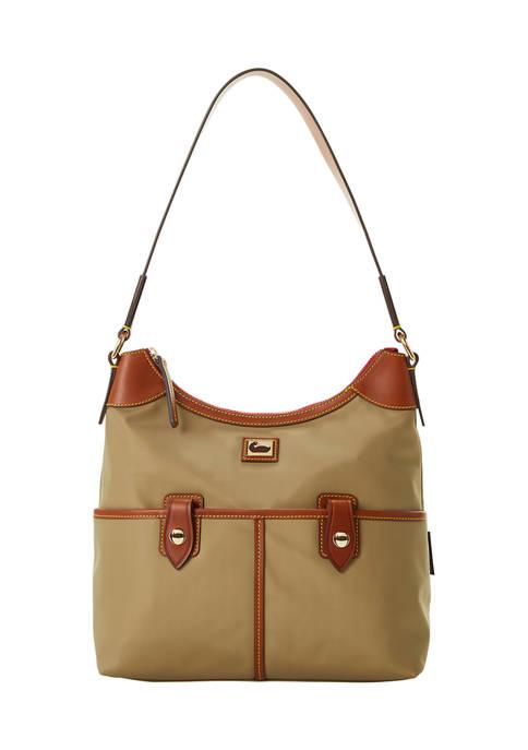 Dooney & Bourke Wayfarer Zip Hobo Bag