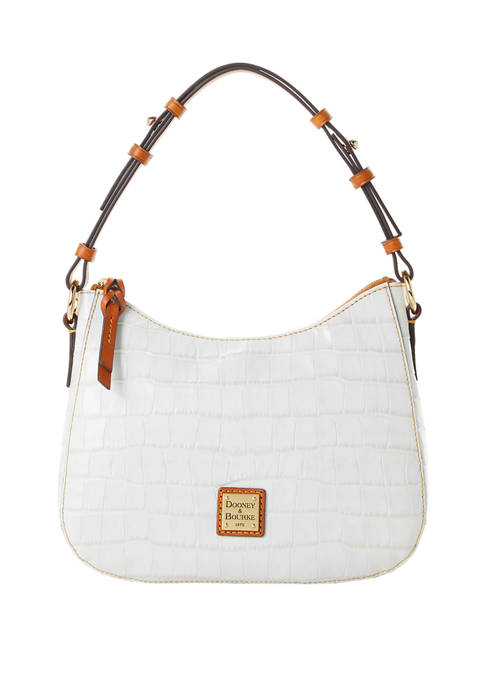 Dooney & Bourke Croco Small Kiley Hobo Bag