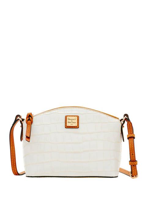 Dooney & Bourke Croco Suki Crossbody Bag