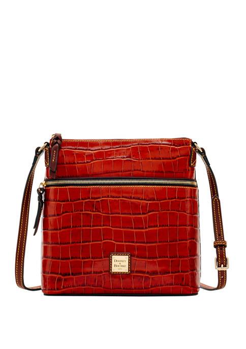 Dooney & Bourke Croco Large Crossbody Bag