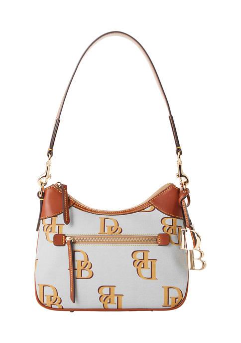 Dooney & Bourke Monogram Small Hobo Bag