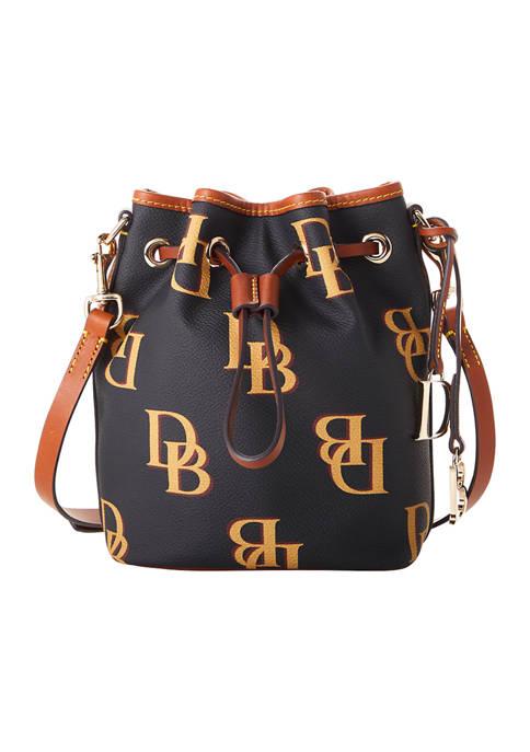 Dooney & Bourke Monogram Small Drawstring Bag