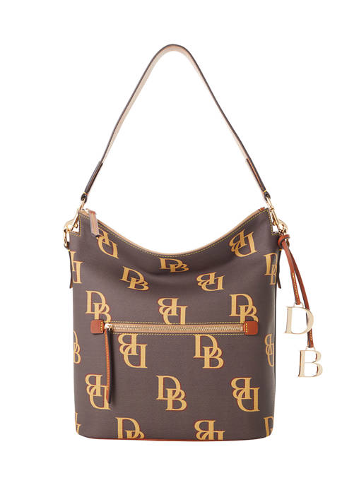 Dooney & Bourke Monogram Large Hobo Sac