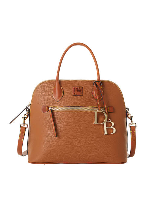 Dooney & Bourke Pebble Large Domed Satchel